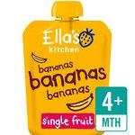 Ella's Kitchen Organic Smooth Banana Puree Stage 1