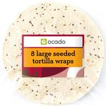 Ocado Large Seeded Wraps