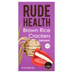 Rude Health Organic Brown Rice Crackers