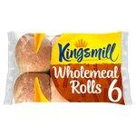 Kingsmill Tasty Wholemeal Rolls