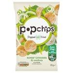 Popchips Sour Cream & Onion Popped Potato Crisps
