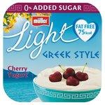 Muller Light Greek Style Morello Cherry Yogurt