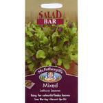 Mr Fothergill's Seeds - Salad Bar Mixed Lettuce Leaves