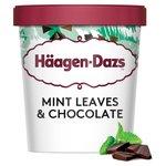 Haagen-Dazs Mint Leaves & Chocolate