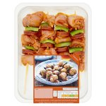Chicken & Chorizo Kebabs Waitrose