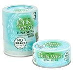 John West No Drain Tuna Steaks In Springwater
