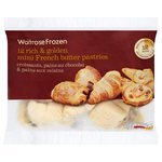 12 Mini French Butter Pastries Frozen Waitrose