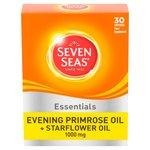 Seven Seas Evening Primrose Oil & Starflower Oil 1000mg