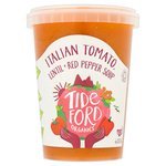 Tideford Organic Italian Tomato Soup with Red Pepper & Lentil