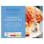 Waitrose Creamy Chicken Pie with Puff Pastry