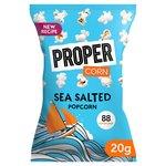 Propercorn Popcorn Lightly Sea Salted