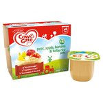 Cow & Gate Pears, Bananas, Apples & Baby Rice Fruit Pots