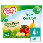 Cow & Gate Fruit Cocktail Fruit Pot Multipack