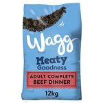 Wagg Complete Dry Dog Food Beef & Vegetable