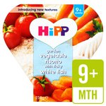 HiPP Organic Garden Vegetable Risotto with Flaky White Fish