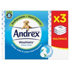 Andrex Washlets Flushable Toilet Tissue Wipes