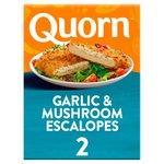 Quorn Garlic & Mushroom Escalopes Frozen