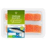Waitrose Duchy Organic 2 Scottish Salmon Fillets
