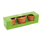 Citronella Candles in Terracotta Pots