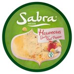Sabra Garlic & Red Pepper Houmous