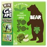 Bear Fruit Yoyos Apple Multipack