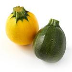 Natoora Round Courgettes