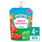 Heinz Smooth Apple & Strawberry 4-36 Mths