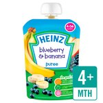Heinz Smooth Blueberry & Banana 4-36 Mths
