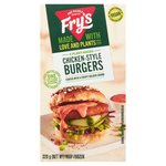 Fry's Chicken-Style Burgers Frozen